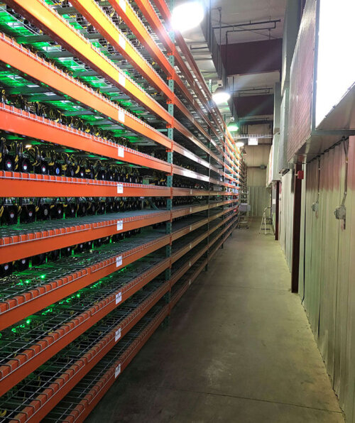 Cryptocurrency mining facility